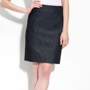 💕Halogen Denim Stretch Pencil Skirt - Size 4
